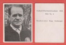 West Germany Sepp Herberger (2)
